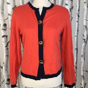 Tommy Hilfiger Cardigan With T Button Details